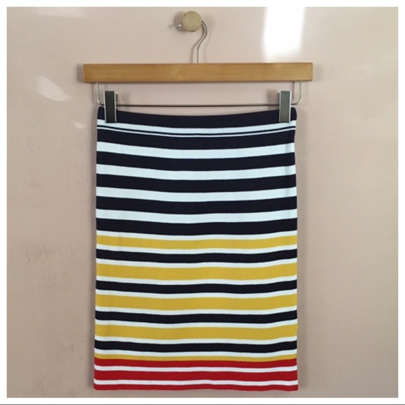 Urban Outfitters Dresses & Skirts - Urban Outfitters Striped BodyCon Skirt